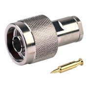 RF INDUSTRIES N male connector for RG58/U, 58A/U, 141, 142 and Ultralink cable
