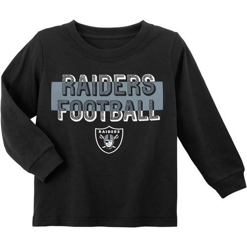 NFL Oakland Raiders Toddler Long Sleeve Tee
