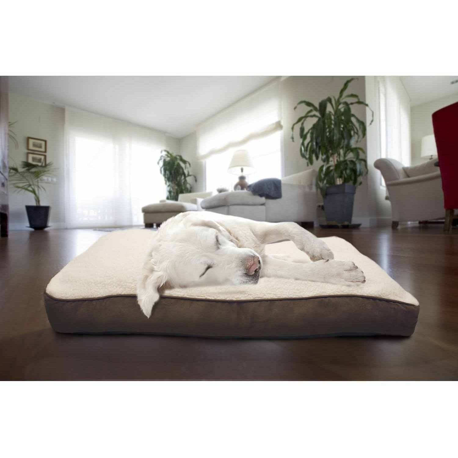 Furhaven Pet NAP Deluxe Pillow Pet Bed for Dogs