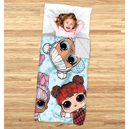 L.O.L. Surprise! Kids 2-in-1 Cozy Cover and Slumber Bag