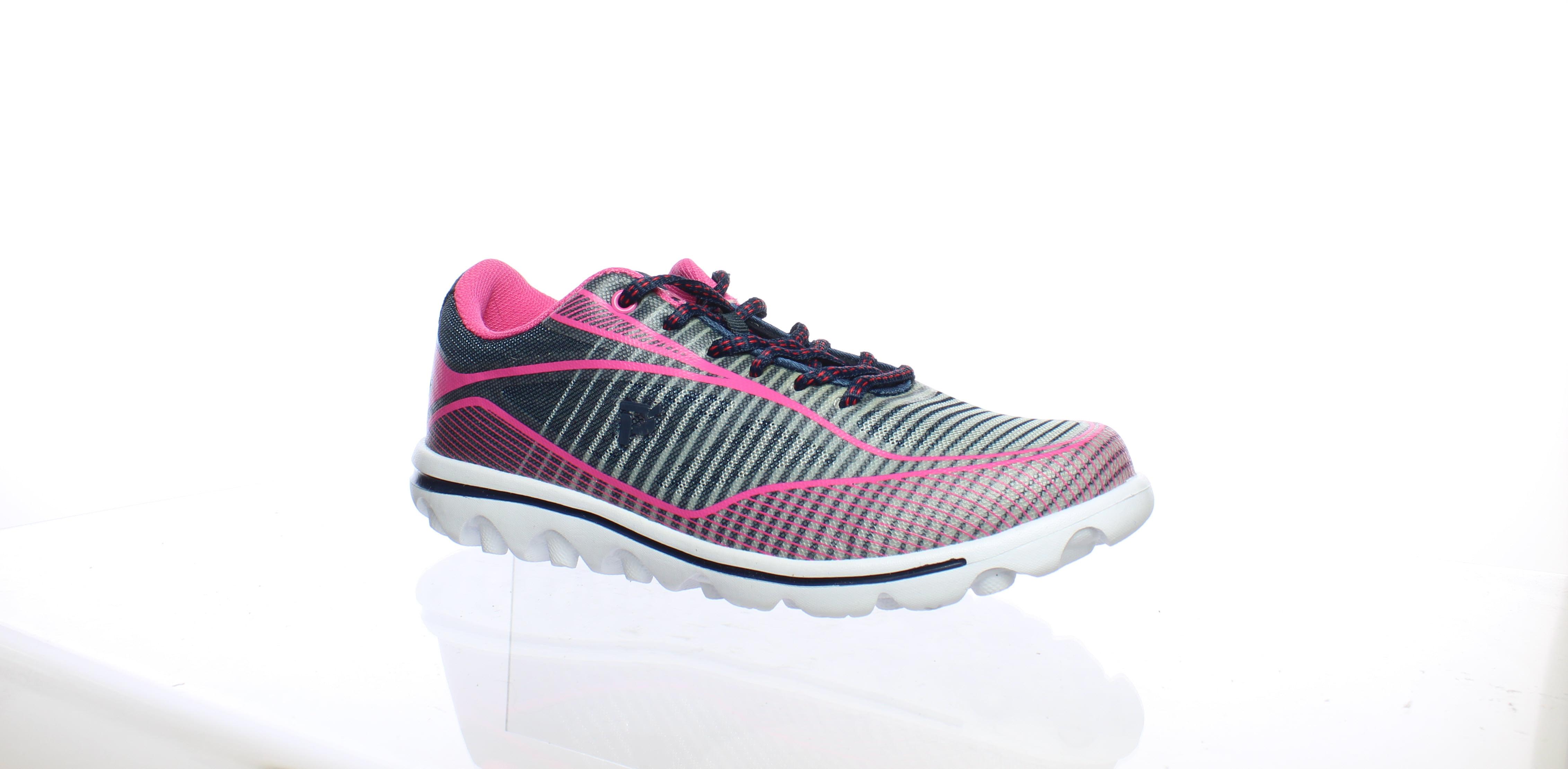 Rejuve Athletic Shoes - Navy/Pink