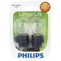 Philips Longerlife Miniature 3057Ll, Clear, Push Type, Always Change In Pairs!