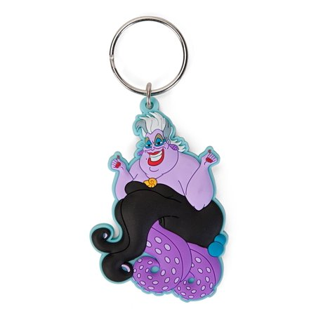 Disney Key Ring (Disney Villains Soft Touch PVC Key Ring: Ursula )