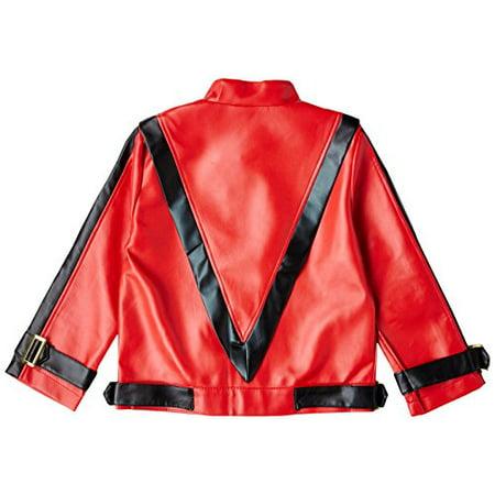ce3a8af59 Charades Child's Michael Jackson Thriller Costume Jacket, Red, X-Large