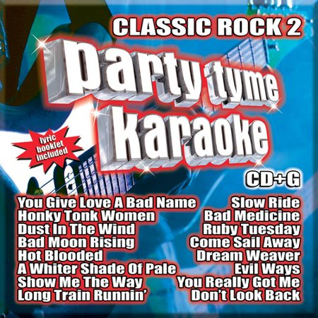 - Party Tyme Karaoke: Classic Rock, Vol. 2 (CD)