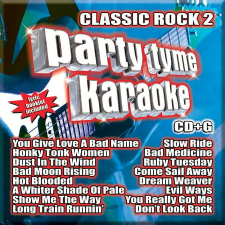 Party Tyme Karaoke: Classic Rock, Vol. 2 (CD) - Classic Halloween Party Music