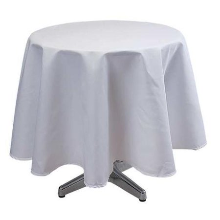 Tablecloth, White ,Phoenix, TO72R-WH