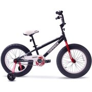 Kids Bike Fat Tire Sporty Bicycle 18 Inch for 5-10 Years Old Chidlren without Hand Brake