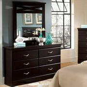 Standard Furniture Crossroads 39 Inch Mirror in Cherry