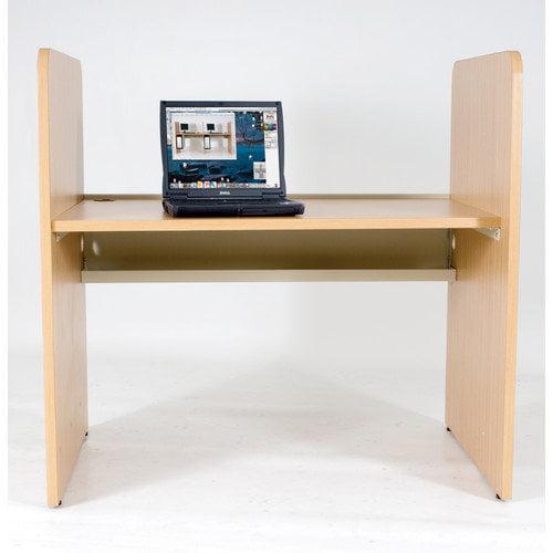 Balt Teak H Carrel Study Desk