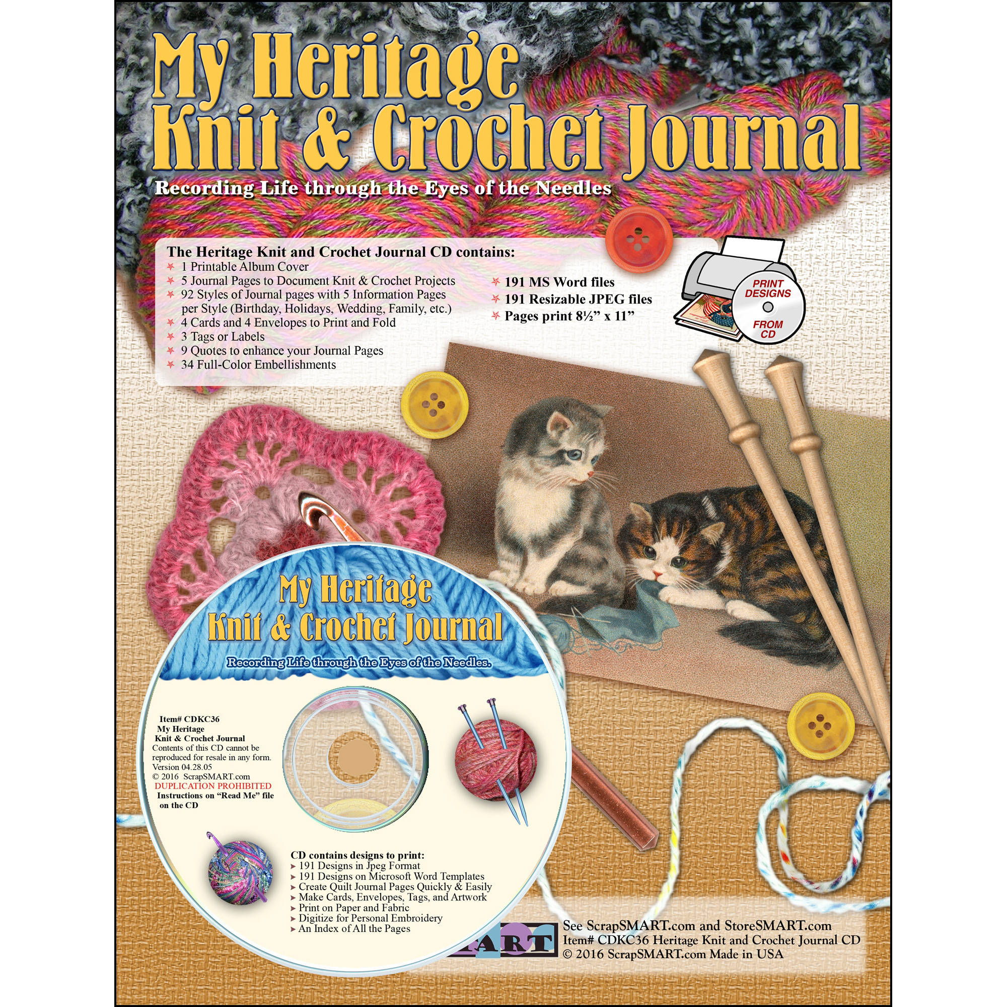 ScrapSMART My Heritage Journal CD-ROM