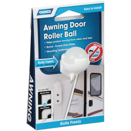 AWNING DOOR ROLLER BALL W/SCREEN DOOR SLIDE, BILINGUAL