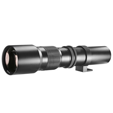 Neewer 500mm f/8 Manual Telephoto Lens, Compatible with SLR/DSLR Camera
