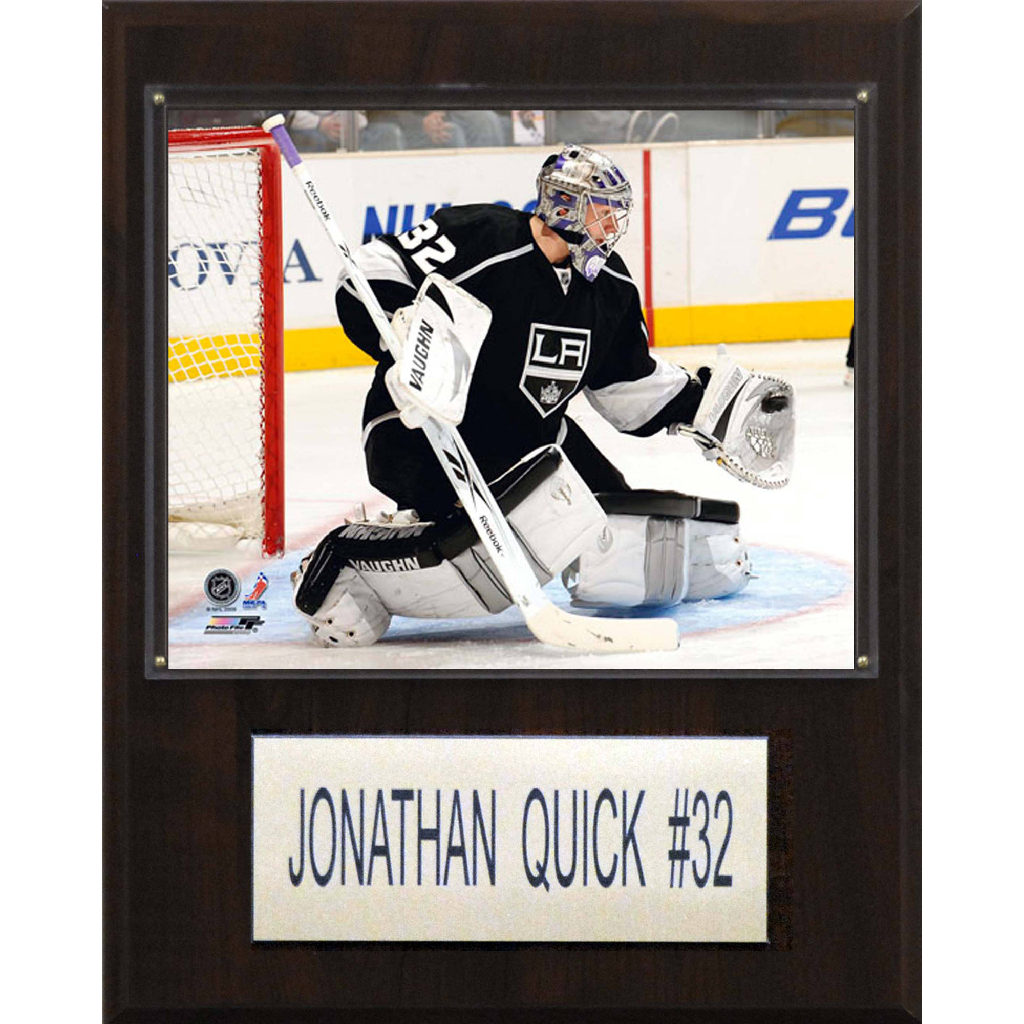 C&I Collectables NHL 12x15 Jonathan Quick Los Angeles Kings Player Plaque
