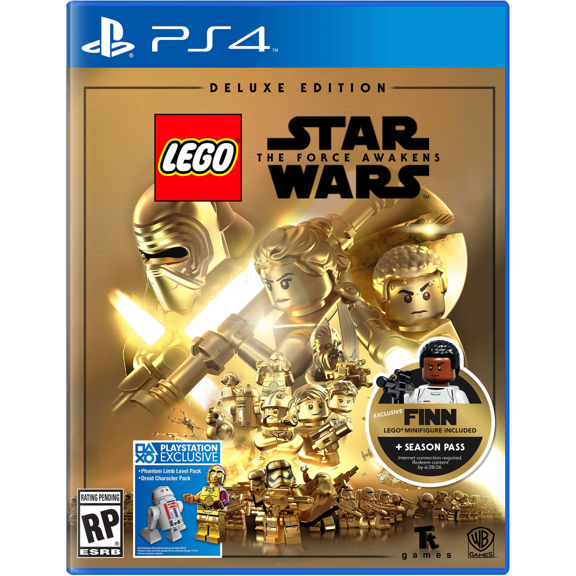 Warner Bros. Lego Star Wars Force Awakens Deluxe Edition - (PS4)  Video Games