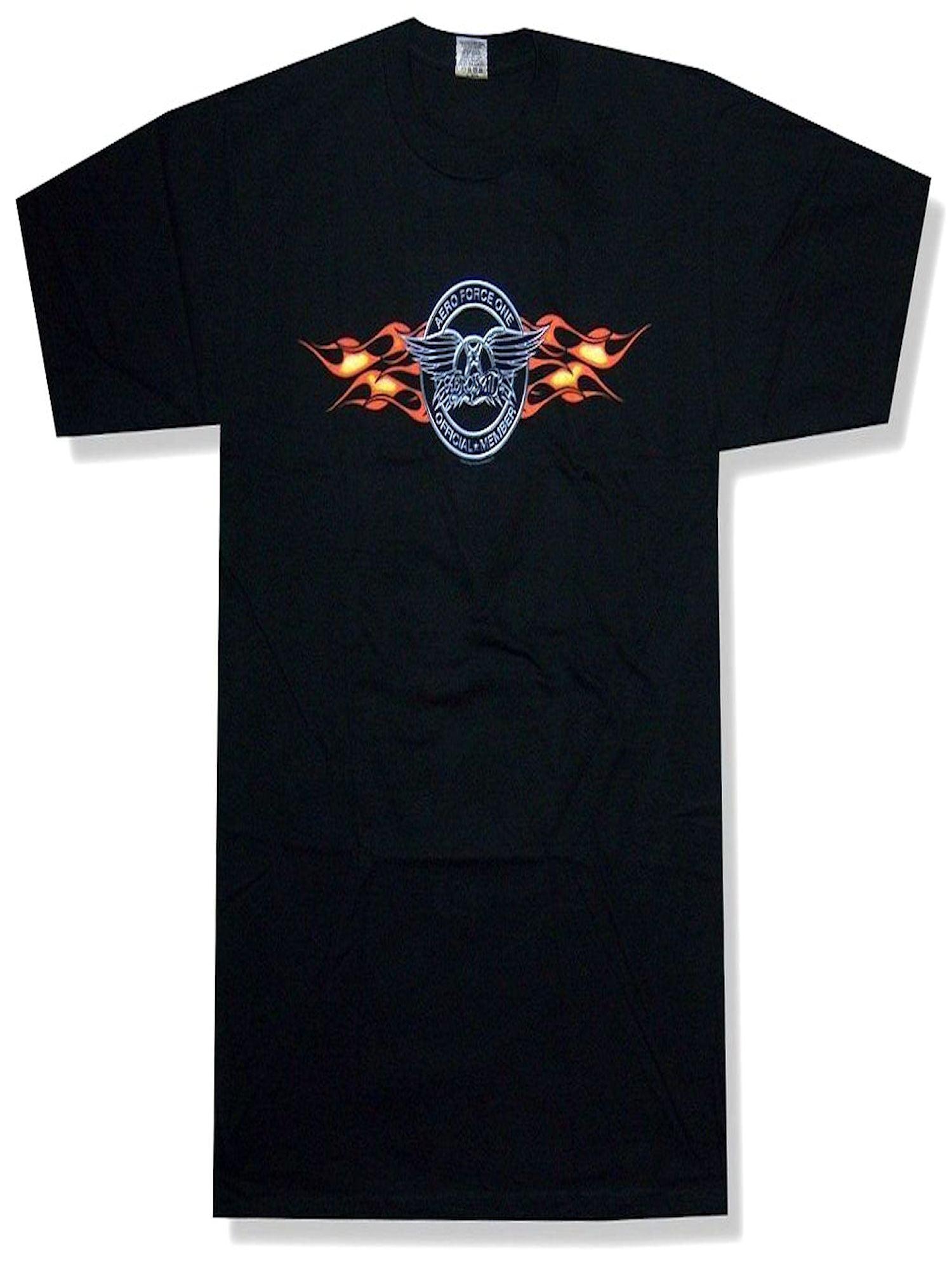 New Aerosmith Men/'s Aero Force One Mens Vintage Classic T-Shirt