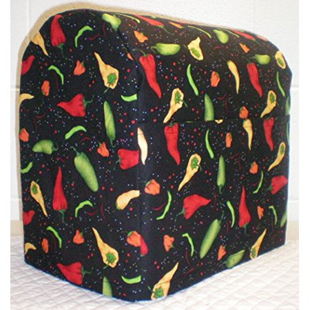 Quilted Hot Peppers Kitchenaid Tilt Head Stand Mixer Cover (All Peppers) ()