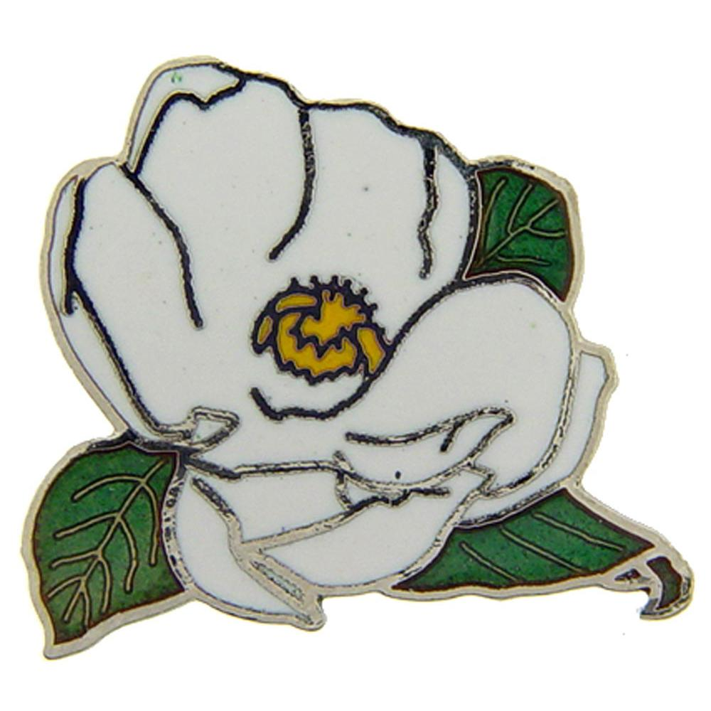 Magnolia Flower Pin 1