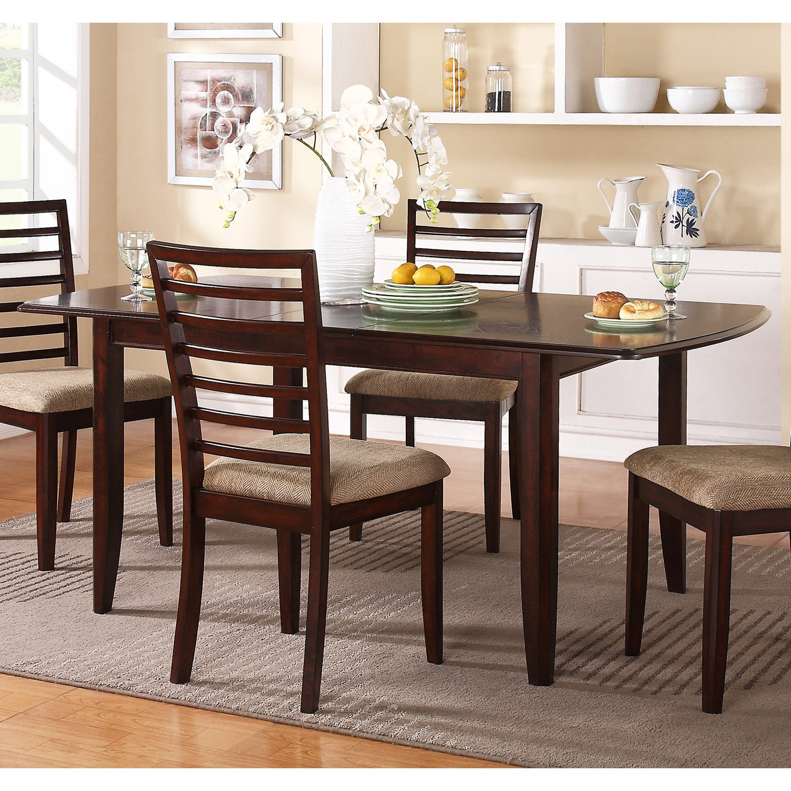 Winners Only Brownstone Dining Table with 12 in. Butterfly Leaf