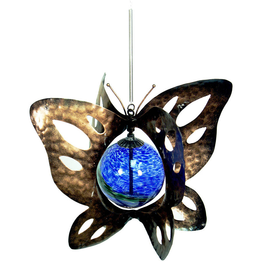 "Echo Valley 4248W 8.63"" Illuminarie Hanging Butterfly Spinner"