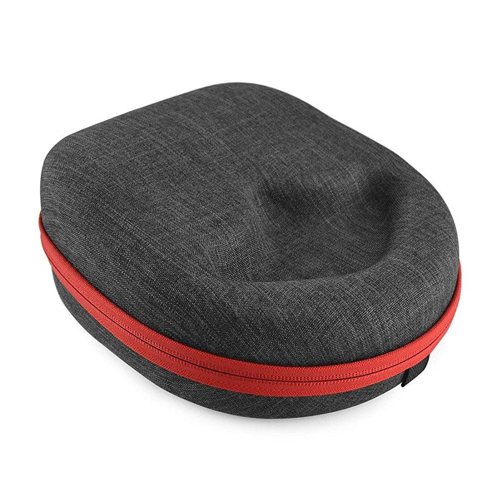 Headphones Case for Sennheiser HD 598, MOMENTUM, Skullcandy Hesh, Crusher, ATH-M50X, Beats Studio, Mixr and More / Headphone Hard Shell Large Carrying Case / Headset Travel Bag (Gray)