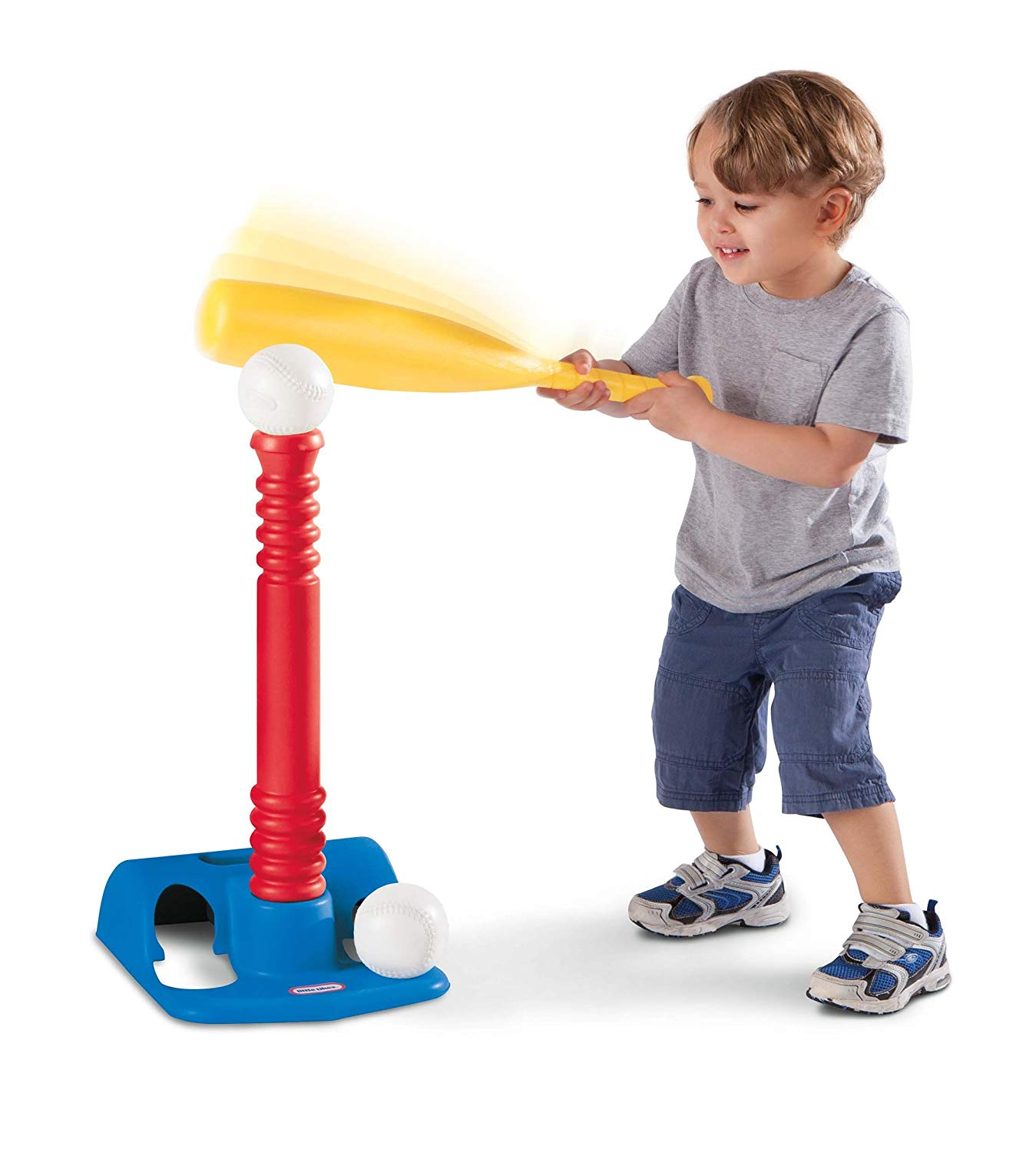 TotSports T-Ball Set, Red, Make baseball a rewarding game for beginning batters with this kids t ball set By Little Tikes