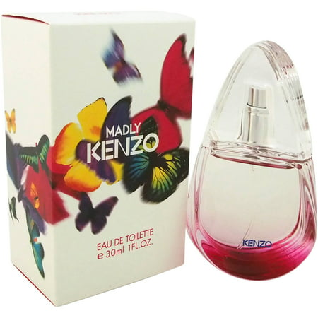 Kenzo Madly for Women Eau de Toilette Spray, 1 oz Kenzo Madly for Women Eau de Toilette Spray, 1 oz: Introduced by the design house of KenzoFloral scent perfume is recommended for casual wearLaunched in 2011Blend of Virginia cedar, rich musk, pink pepper and African orange flower