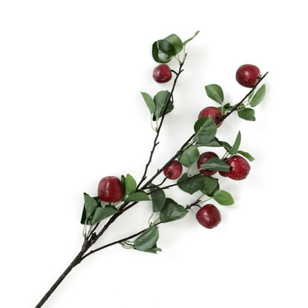 Simulation Apple Branch Artificial Flower Arrangement Shooting Props Home Wedding Party Decoration