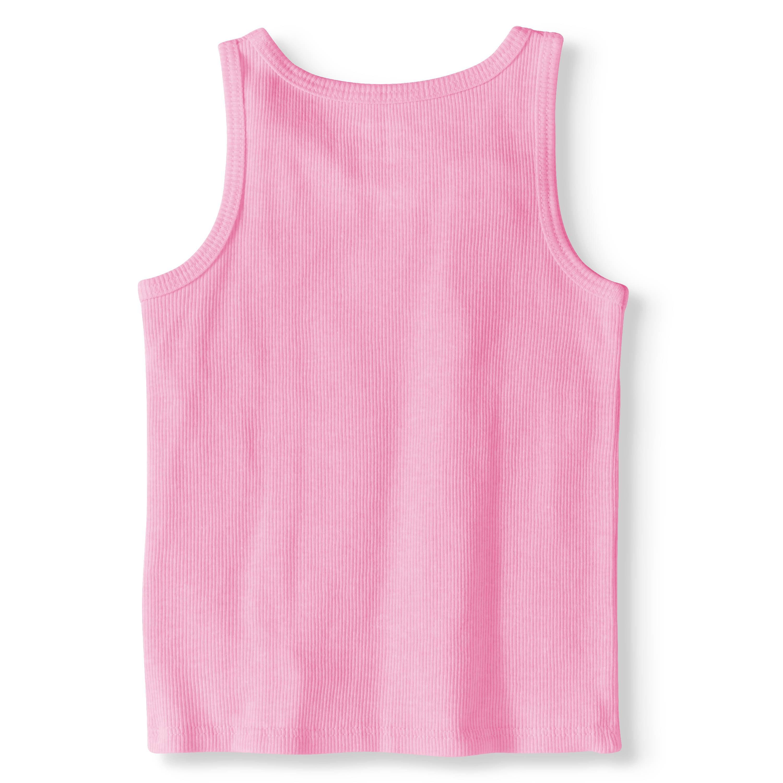 c4910379b Garanimals - Toddler Girl Solid Rib Tank Top - Walmart.com