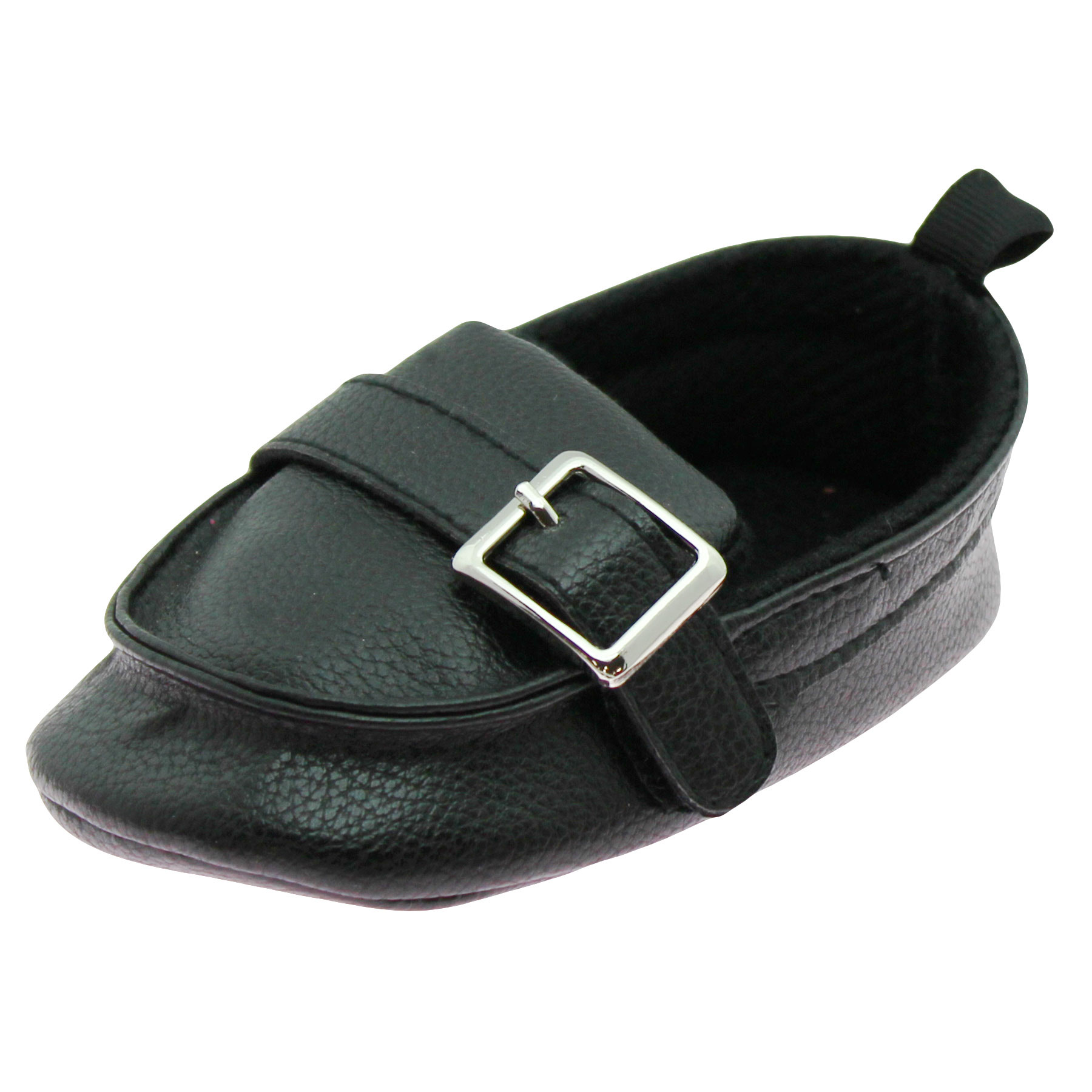New Slip On Flats For Baby Toddler Girls Or Boys Faux Leather Shoes Size 4-9