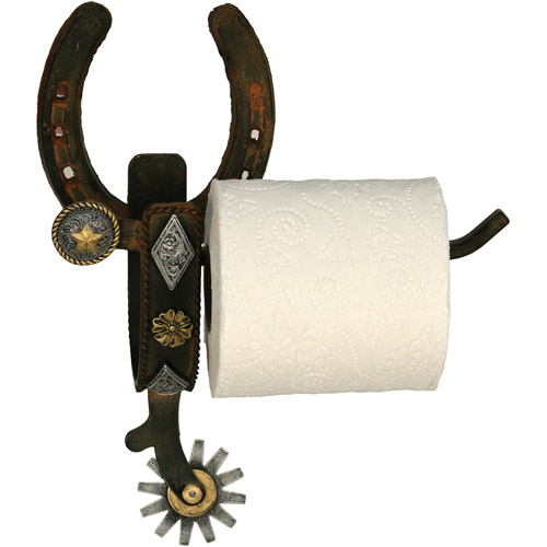Rivers Edge Products Cast Iron Spur Wall Mount Toilet Paper Holder