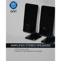 Onn Aux In-Line Speakers