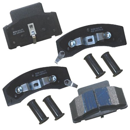 Go-Parts OE Replacement for 1990-2000 Chevrolet K3500 Front Disc Brake Pad Set for Chevrolet (K3500 Disc Brake)