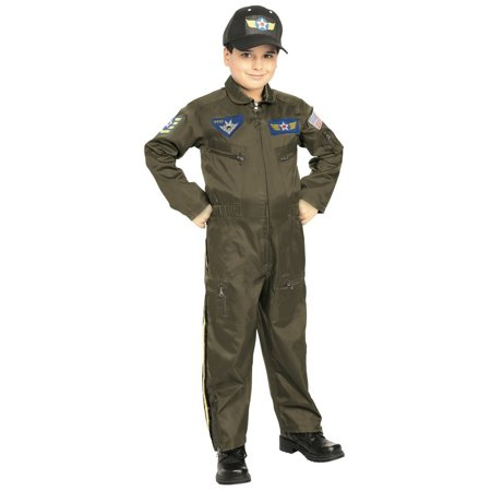 Halloween Fighter Pilot (Jr. Fighter Pilot Costume for)