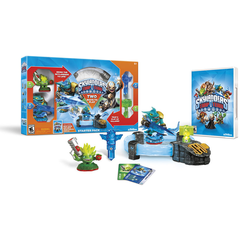 Activision Skylanders Trap Team Starter Pack Action adventure Game Playstation 4 (87029) by Activision