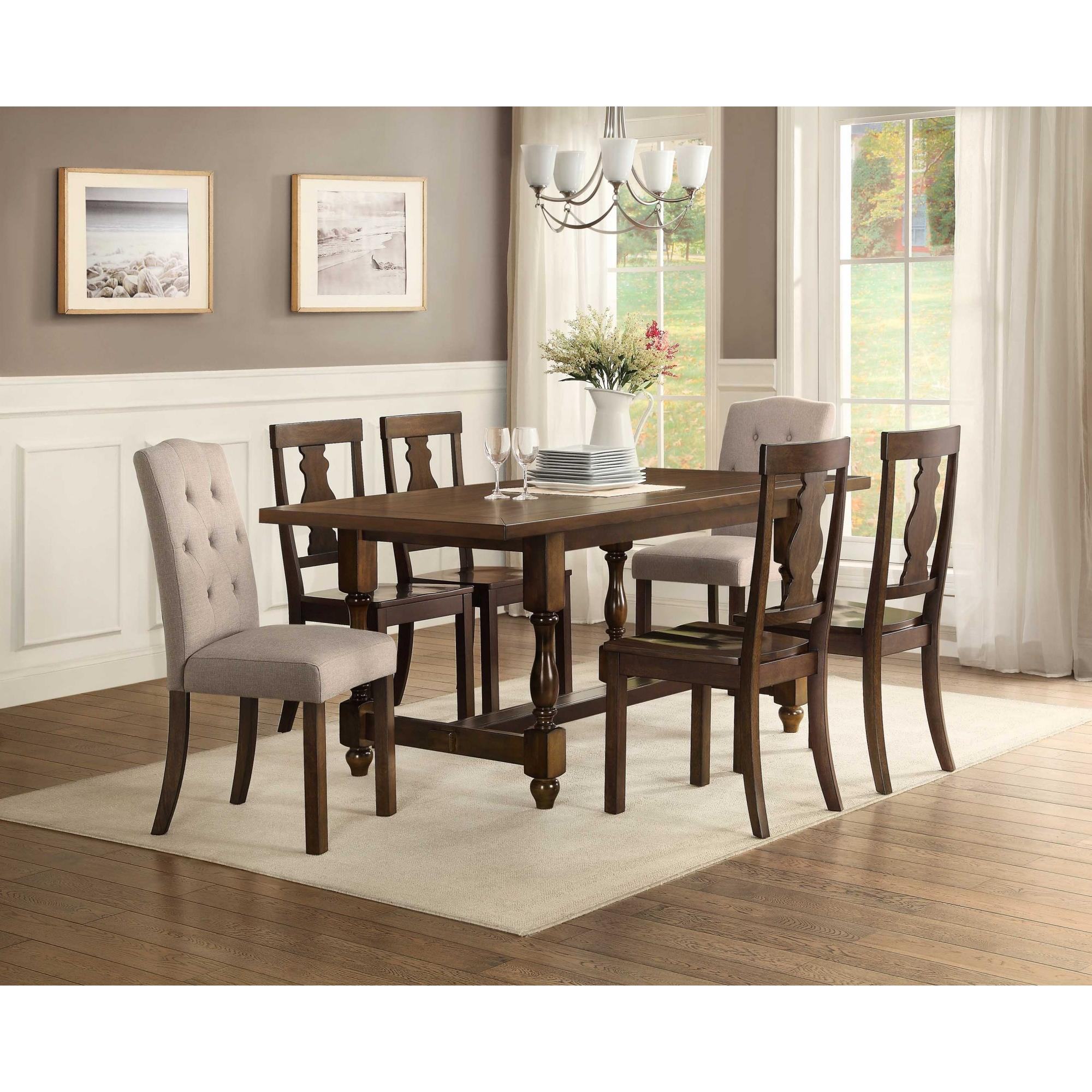 Better Homes and Gardens Providence Wood Dining Chair Set of 2