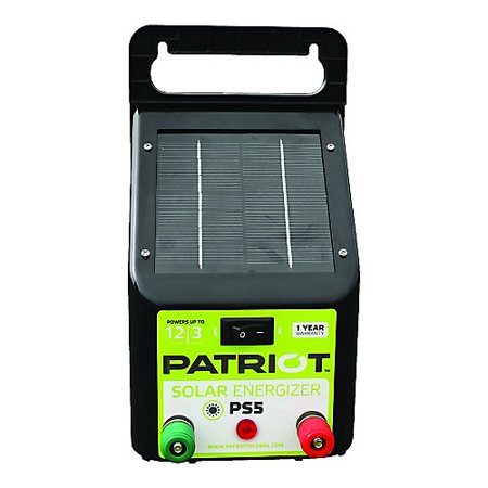 Patriot PS5 Solar Fence Energizer 0.04 Joule