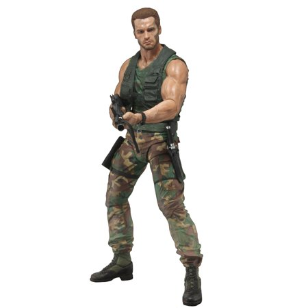 "Predator - 7"" Scale Action Figure - 30th Anniversary Jungle Patrol Dutch"