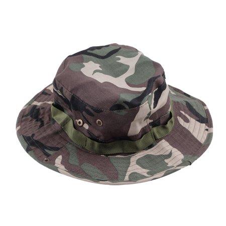 ed920b5a Sun Hat Canvas Military Camouflage Bucket Hats Camo Fisherman Hats ...