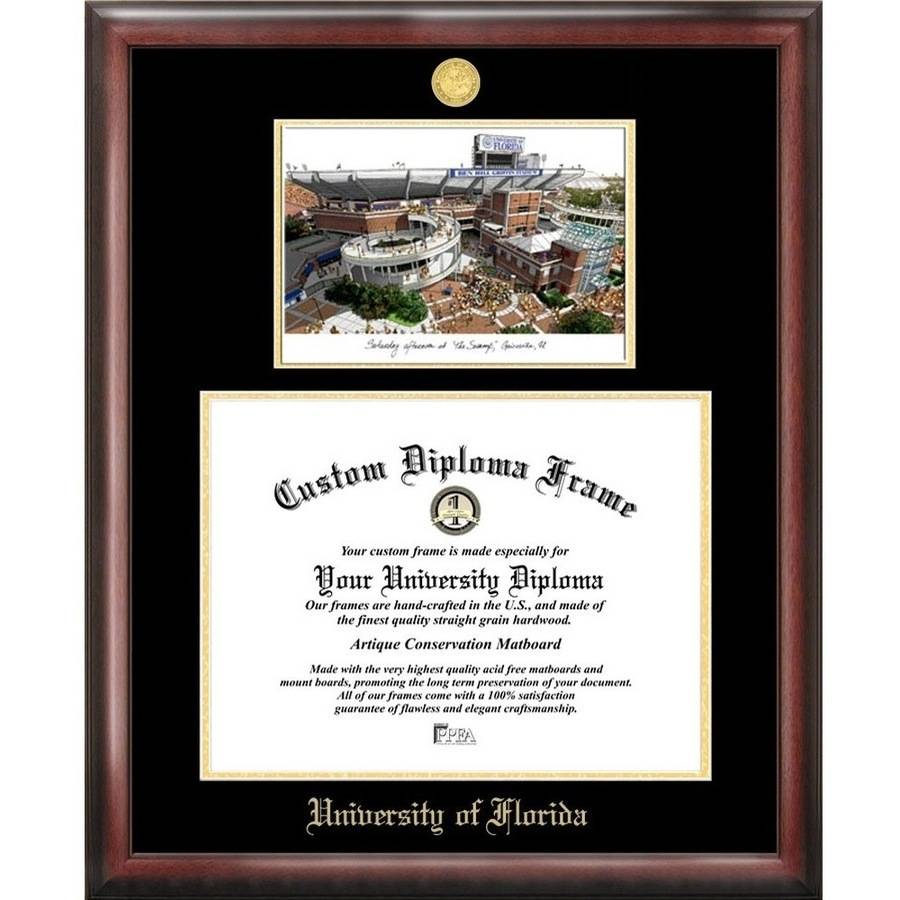 Campus Images University of Florida Gold Embossed Diploma Frame
