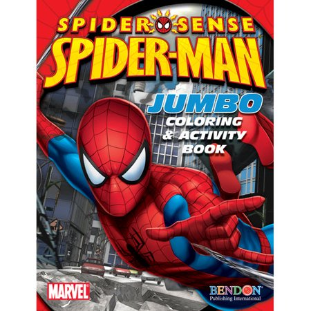 Spider-Man Jumbo Coloring and Activity Book - Walmart.com