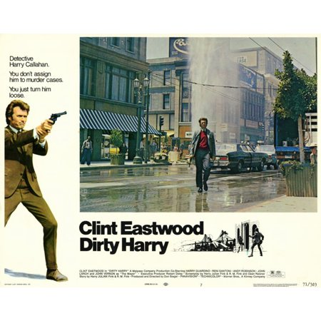 Dirty Harry (1971) 11x14 Movie - Dirty 30 Decorations