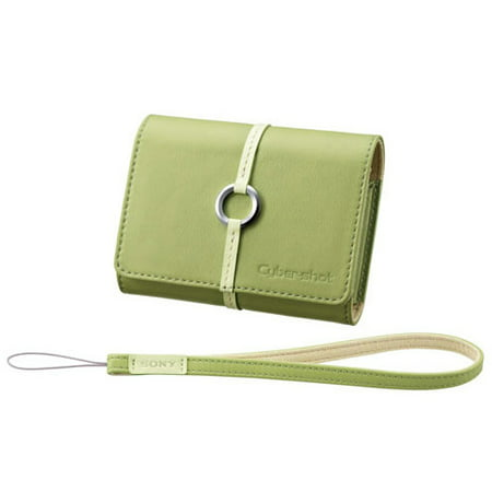 Buy Now Sony Cyber-Shot LCS-TWB Soft Leather Digital Camera Case (Green) Before Special Offer Ends