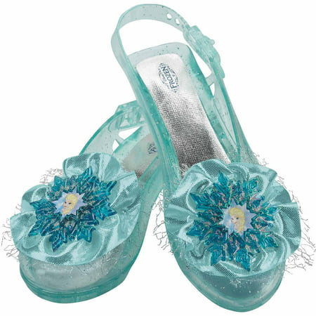 Frozen Elsa Shoes Child Halloween Accessory](Elsa Costume Fabric)