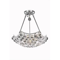 PWG Lighting - Lighting By Pecaso 8332D18C-RC Taillefer Heirloom Grandcut Chandelier, Chrome
