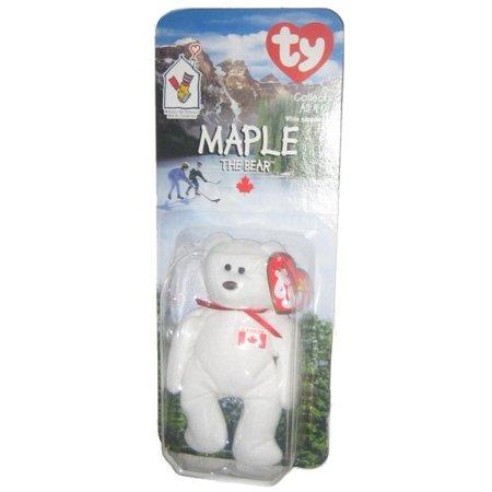 Ty McDonalds Maple The Bear White Canada Beanie Baby Plush - Walmart.com 1932fe507dd