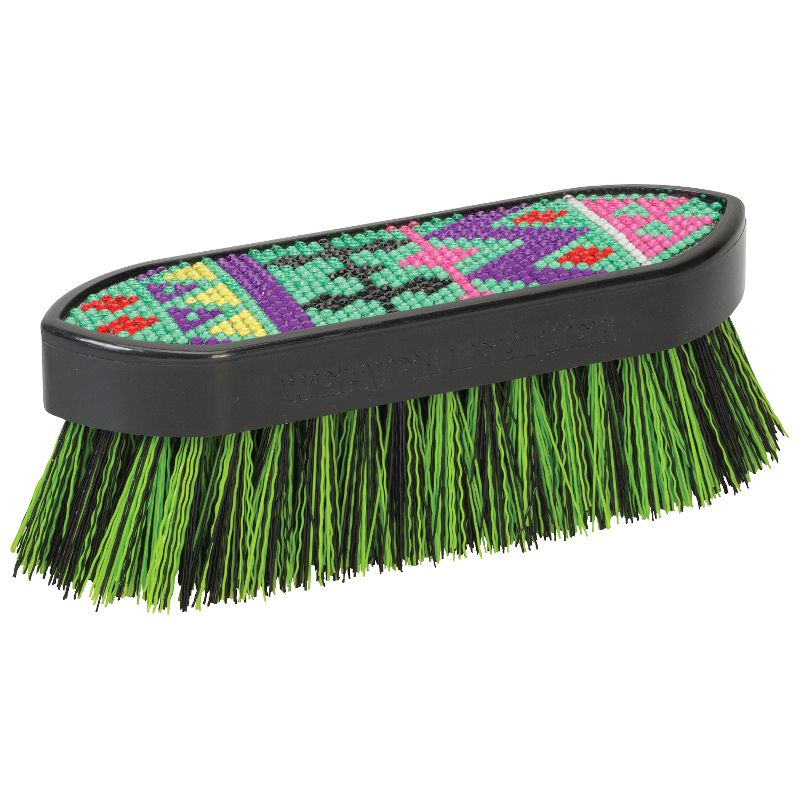 Weaver Leather  Large Bling Brush Aztec Lime