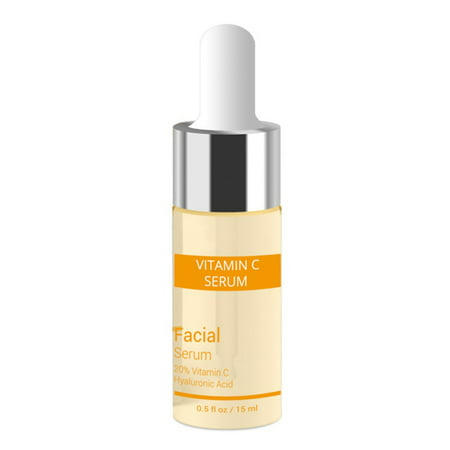 Vitamin C Serum Hyaluronic For Face Acid Best Anti Aging Freckle Removal Moisturizing Essence