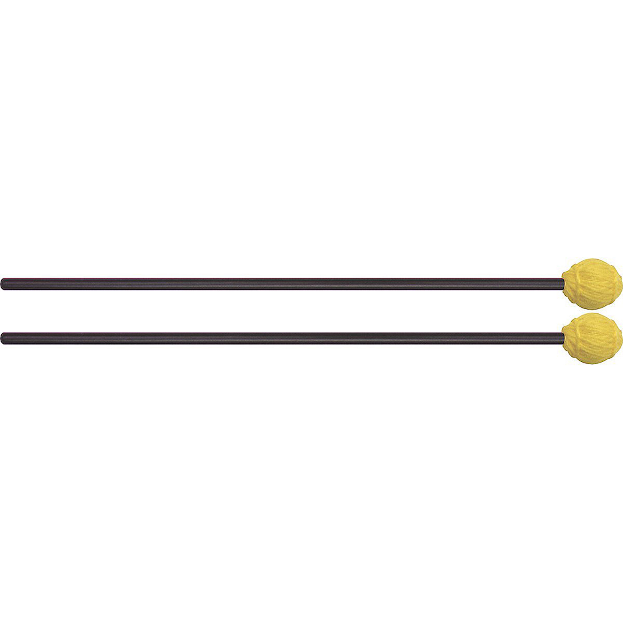 Mike Balter 11BB Ensemble Series Hard Yellow Marimba Mallets w  Black Birch Handles by Mike Balter