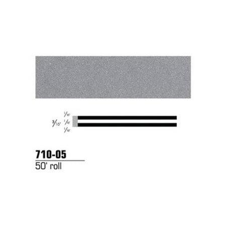 3M Company  3MS-71005 Double Stripe Tape - Silver Metallic  0.19 in. x 50 ft.